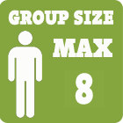 Group size max 8